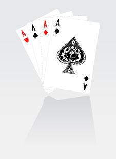 Set Of Playing Cards Royalty Free Stock Images