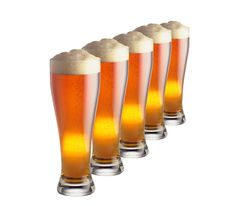 Free Lot Of Beer Glass Stock Image - 8460451