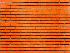 Free Red Brick Wall Royalty Free Stock Photo - 8460505