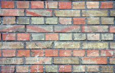 Free Old Brick Wall Royalty Free Stock Images - 8460529