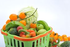 Free Fruits And Vegetables Royalty Free Stock Photo - 8460585