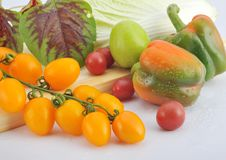Free Fruits And Vegetables Stock Image - 8460621