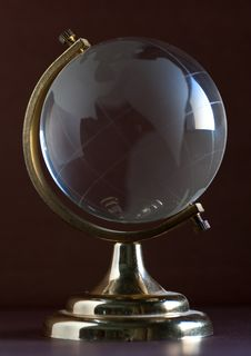 Free Glass Globe Royalty Free Stock Photography - 8460647