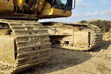 Free Excavator Royalty Free Stock Image - 8460836