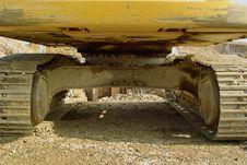 Free Excavator Royalty Free Stock Image - 8460896