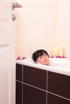 Free Bath Royalty Free Stock Photo - 8460945