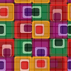 Free Seamless Retro Pattern Stock Photography - 8461122