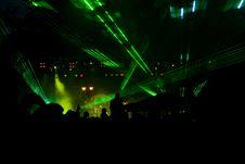 Laser Party Stock Photos