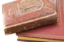 Free Old Red Books Royalty Free Stock Image - 8461846