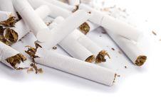 Free Broken Cigarettes Stock Images - 8462264