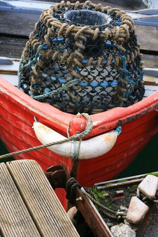 Free Lobster Pots Stock Image - 8463041