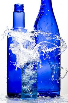 Free Glasses With Water Stock Photo - 8463680