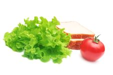 Free Sandwich Ingredients. Royalty Free Stock Photography - 8463887