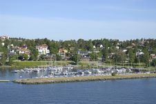 Free A Harbor In Europe Royalty Free Stock Image - 8464196
