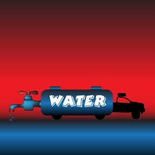 Free Water Truck Stock Images - 8464294