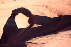 Free Delicate Arch Shadow Stock Images - 8465194