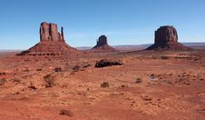 Free Monument Valley Landscape Stock Photography - 8465402