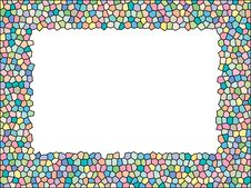 Free Stained Glass Frame Royalty Free Stock Photography - 8465497