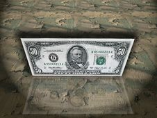 Free American Money Royalty Free Stock Images - 8465699