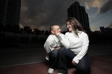 Free Happy Young Couple Stock Image - 8466111