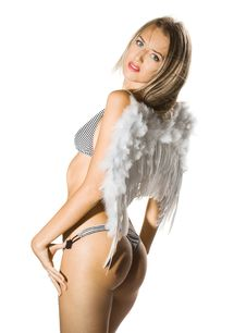 Free Angel Girl Royalty Free Stock Photography - 8467057