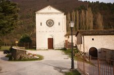 Free Abbey Of Castel San Felice Stock Photo - 8467410