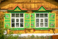 Free The House In The Siberian Village Royalty Free Stock Images - 8467439