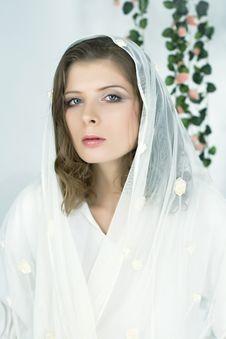 Free Portrait Beautiful Romantic Woman Royalty Free Stock Photo - 8467455