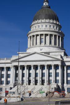 Free Utah - State Capitol Stock Images - 8467584