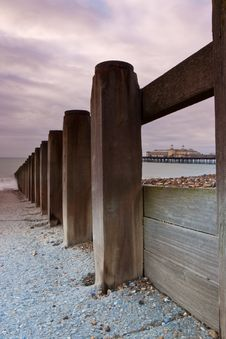 Free The Pier In Hastings Royalty Free Stock Photos - 8467718