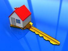 Free House On Key Royalty Free Stock Photo - 8469035