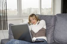 Free Working At Home Stock Photos - 8469103