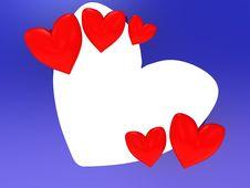 Free Love Frame Royalty Free Stock Image - 8469466