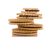 Free Stack Of Cookies Stock Image - 8469841