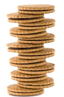 Free Stack Of Cookies Stock Photo - 8469860