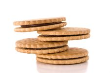 Free Stack Of Cookies Royalty Free Stock Photo - 8469875