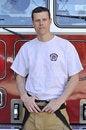 Free Portrait Of A Fireman Stock Photos - 8472403