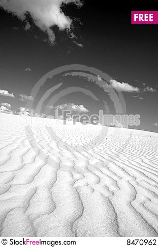 Sand Drifts Stock Photo