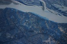 Free Siberia Aerial City Royalty Free Stock Images - 8470099