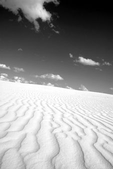 Sand Drifts Stock Photography