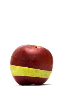 Free Red And Green Apple Royalty Free Stock Photo - 8471155