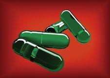 Free Green Pills Stock Image - 8471281