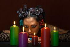 Free Magic Woman Royalty Free Stock Photos - 8471558