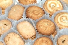 Free Butter Cookies Stock Photography - 8471742