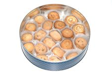Free Butter Cookies Royalty Free Stock Photo - 8471755