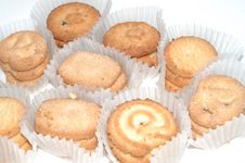 Free Butter Cookies Royalty Free Stock Images - 8471759