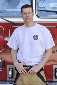 Free Portrait Of A Fireman Stock Photos - 8472403