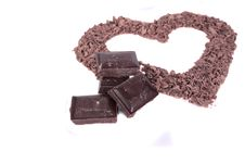 Chocolate Love Royalty Free Stock Photos