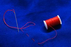 Free Needle And Thread 2 Stock Photos - 8472953