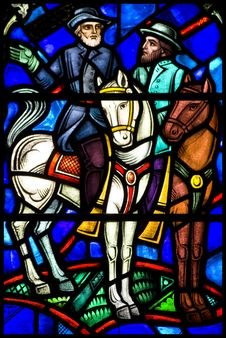 Free Stained Glass Royalty Free Stock Photography - 8473207